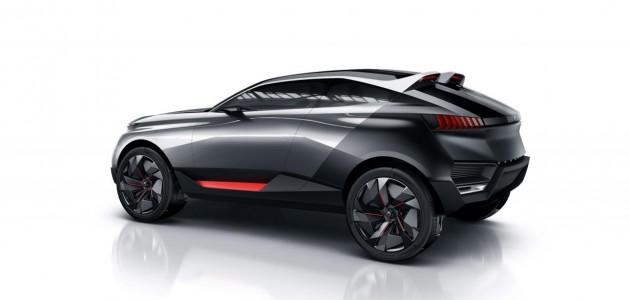 Peugeot Quartz concept 2014 2