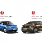 Dupla vitória da Kia no Red Dot Design Awards 2015