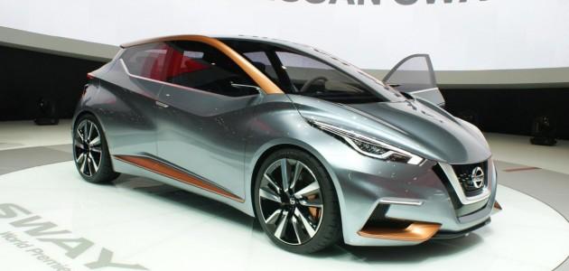 Nissan Sway concept at 2015 Geneva Motor Show 3