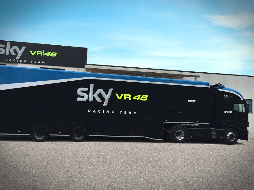 97ce84705d94 Iveco confirma posto de fornecedora oficial do Sky Racing Team VR46