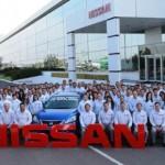Nissan atinge marca de 10 milhões de carros produzidos no México