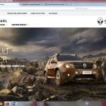 Novo site Renault 2015