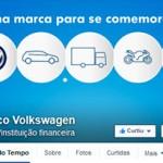 Banco Volkswagen conquista 100 mil fãs no Facebook