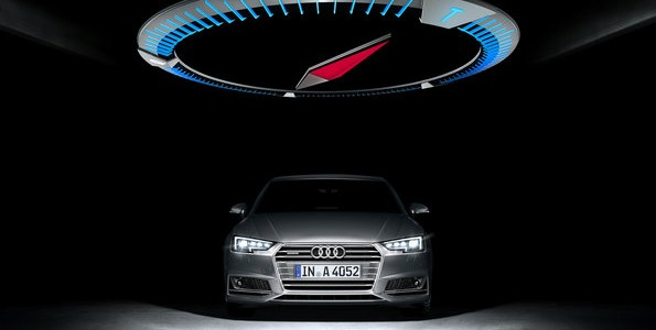 Audi is once again displaying bold exhibition architecture at the IAA International Motor Show. Placing the latest edition of Audi's bestselling model in its center, the architectural showcase will provide spectacular staging for the new Audi A4.