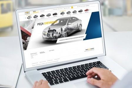 Chevrolet lança site de consulta e venda on-line de peças genuínas