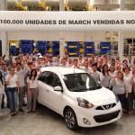 Nissan March 100 mil unidades vendidas no Brasil