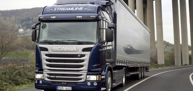 Scania G 450 4x2 Streamline, Highline cab. Tuscany, Italy Photo: Gustav Lindh 2012