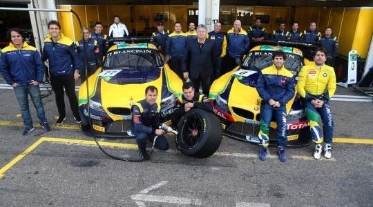 BMW Team Brasil encerra Blancpain Sprint Series com terceiro lugar na classificação geral