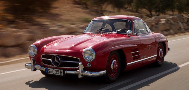 1954-Mercedes-Benz-300-SL-front-three-quarter